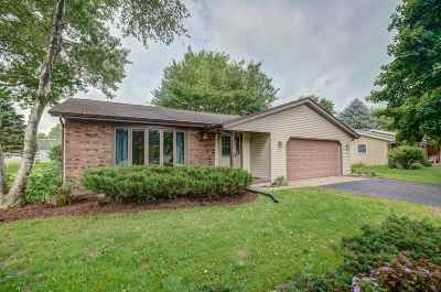 Stoughton Single Family Home For Sale: 1610 N Page St