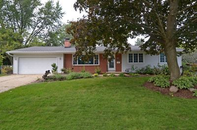 Madison Single Family Home For Sale: 5909 South Hill Dr