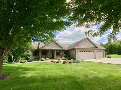 Milton Single Family Home For Sale: 5620 N Waterman Dr