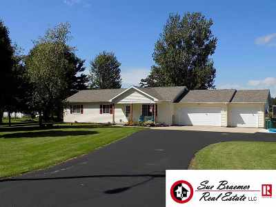 Dodge County Single Family Home For Sale: N7275 County Road I