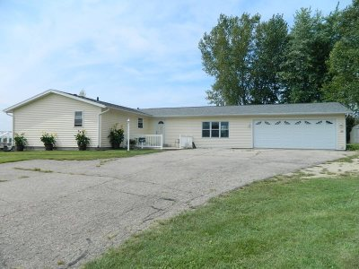 Green County Single Family Home For Sale: W5077 County Road W