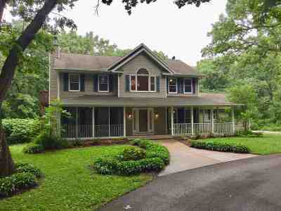 Columbus Single Family Home For Sale: W3263 Hall Rd