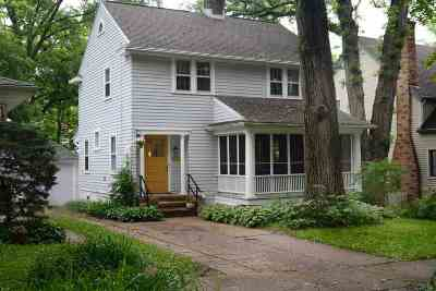 Madison Single Family Home For Sale: 713 Chapman St