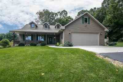 Rock County Single Family Home For Sale: 10147 W County Road K