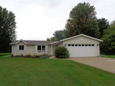 Dodge County Single Family Home For Sale: W8866 Niblick Rd