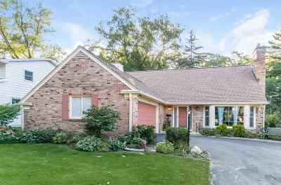 Madison Single Family Home For Sale: 10 Parklawn Pl