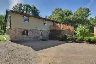 Columbia County Single Family Home For Sale: N5462 Dunning Rd