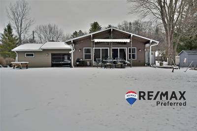 Sauk County Single Family Home For Sale: S445 Warbler Ct