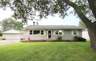 Beloit Single Family Home For Sale: 2440 S Dewey Ave