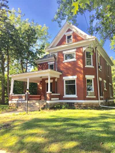 Green County Single Family Home For Sale: 2121 12th St