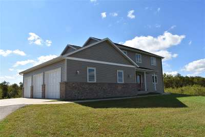 Green County Single Family Home For Sale: N8544 Story Ridge Ct