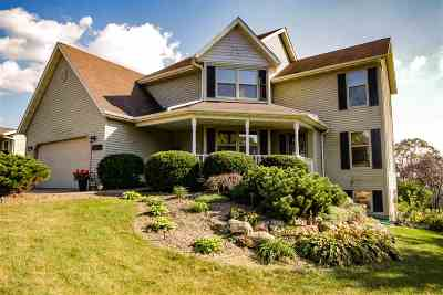 Blue Mounds WI Single Family Home For Sale: $374,900