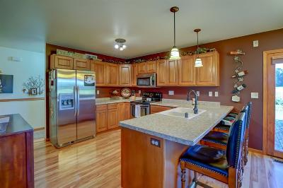 Columbia County Single Family Home For Sale: N4483 Dunning Rd
