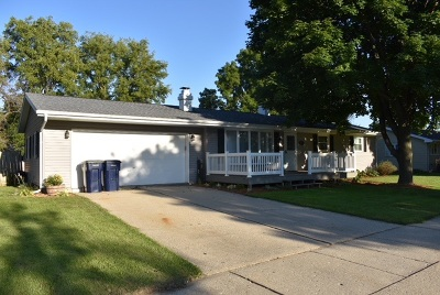 Janesville Single Family Home For Sale: 1528 Gershwin Dr