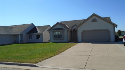 Rock County Single Family Home For Sale: 4011 Creekside Dr