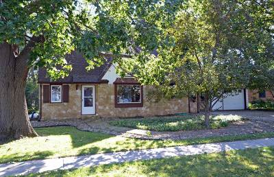 Black Earth Single Family Home For Sale: 1301 East St