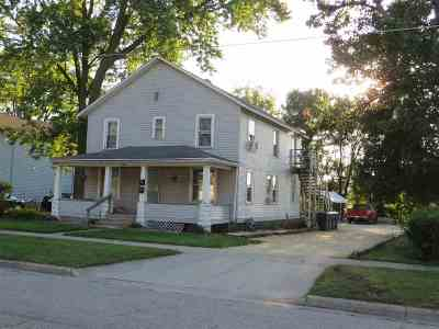 Janesville Multi Family Home For Sale: 1302 Jerome Ave