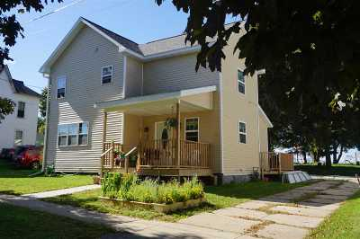 Dane Single Family Home For Sale: 108 Railroad St