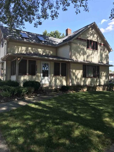 Rock County Single Family Home For Sale: 206 Maple Ave