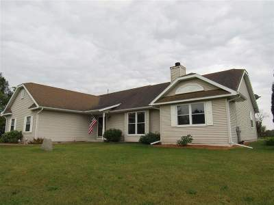 Rock County Single Family Home For Sale: 8528 N Stone Farm Rd