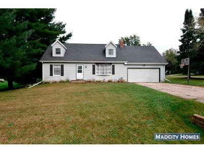 Deforest WI Single Family Home For Sale: $249,900