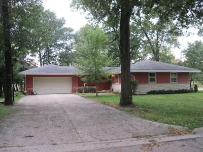 Adams WI Single Family Home For Sale: $109,000