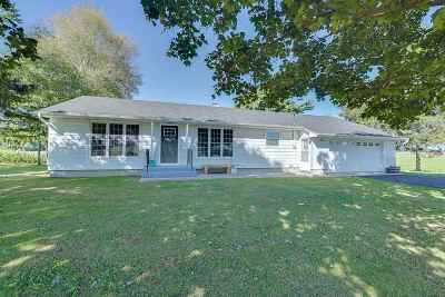 Jefferson County Single Family Home For Sale: N3297 Hwy 89