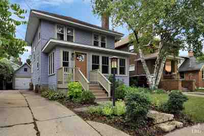 Dane County Single Family Home For Sale: 1837 Rutledge St