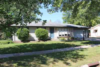 Rock County Single Family Home For Sale: 1201 Yuba St