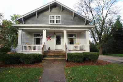 Jefferson County Single Family Home For Sale: 400 W Madison St