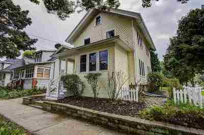 Madison Single Family Home For Sale: 222 N 6th St