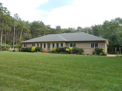 Green County Single Family Home For Sale: N4094 Evergreen St