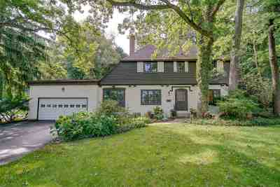 Madison Single Family Home For Sale: 1142 Waban Hill