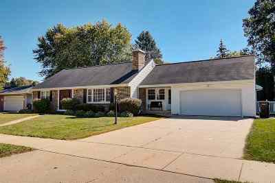 Janesville Single Family Home For Sale: 2414 Ruger Ave