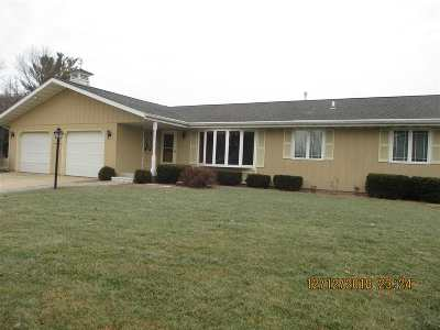 Janesville Single Family Home For Sale: 1712 N Parker Dr
