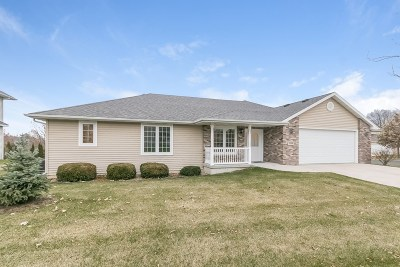 Stoughton Single Family Home For Sale: 2100 Hilldale Ln