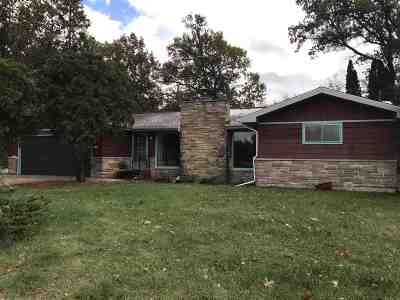 Adams WI Single Family Home For Sale: $138,500