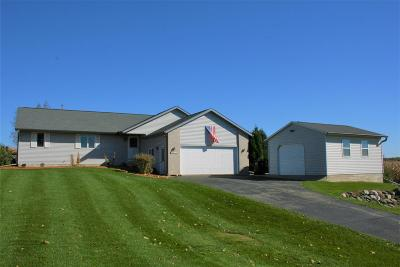 Deforest Single Family Home For Sale: 7736 Clinton Rd
