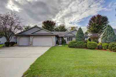 Janesville Single Family Home For Sale: 2801 Cumberland Dr