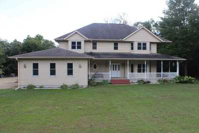Columbia County Single Family Home For Sale: W9903 Hogan Rd