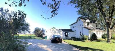 Edgerton Single Family Home For Sale: 8808 N County Road F