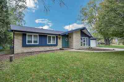 Jefferson County Single Family Home For Sale: W3099 East Gate Dr