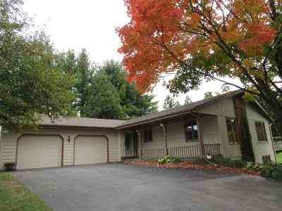 Janesville Single Family Home For Sale: 3610 N Hickory Dr