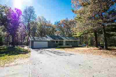 Sauk County Single Family Home For Sale: S3009 Deer Trail Rd