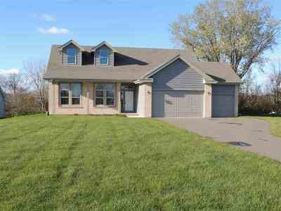 Rock County Single Family Home For Sale: 8747 N Stone Farm Rd