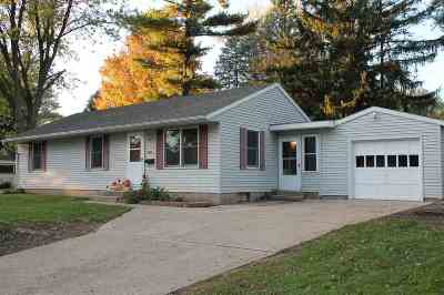Edgerton Single Family Home For Sale: 300 South Ave