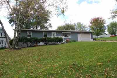 Dodgeville WI Single Family Home For Sale: $189,000