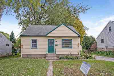 Madison WI Single Family Home For Sale: $197,000