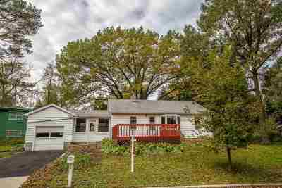 Madison WI Single Family Home For Sale: $225,000