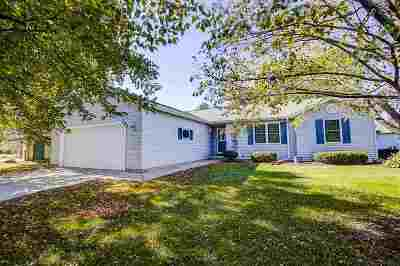 Cottage Grove WI Single Family Home For Sale: $264,900
